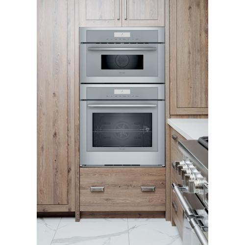 Thermador - Combination Speed Wall Oven 30'' Stainless Steel MEDMC301WS
