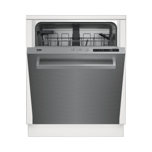 BekoFull Size Stainless Dishwasher, 14 place settings, 48 dBa, Top Control