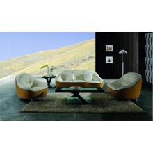 Divani Casa 9007 Modern 2-Tone Leather Sofa Set