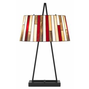 60W x 2 Imperial Tiffany table lamp