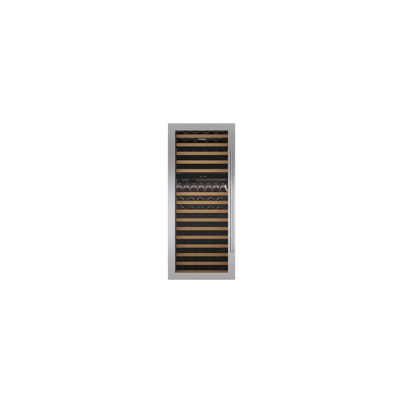 """Classic 30"""" Wine Storage Stainless Steel Flush Inset Door Panel with Pro Handle"""