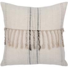"""View Product - Linen Stripe Embellished LSP-003 13""""H x 20""""W"""