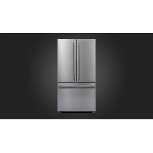 "Fulgor Milano36"" Pro French Door Fridge - Stainless Steel"