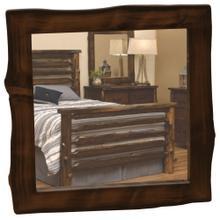 "Mirror - 32"" x 36"" - Modern Cedar"