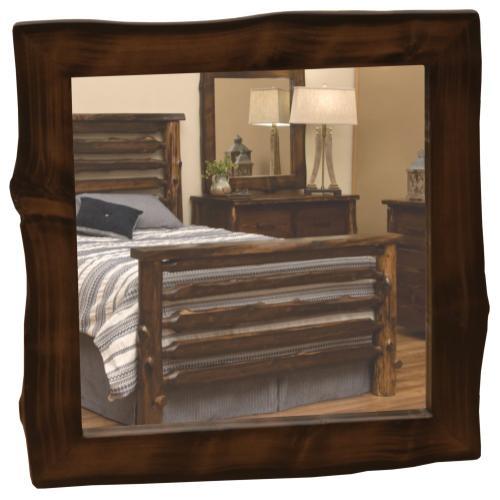 "Mirror Frame - 36"" x 36"" - Modern Cedar"