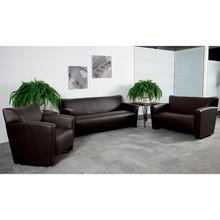 HERCULES Majesty Series Brown LeatherSoft Sofa