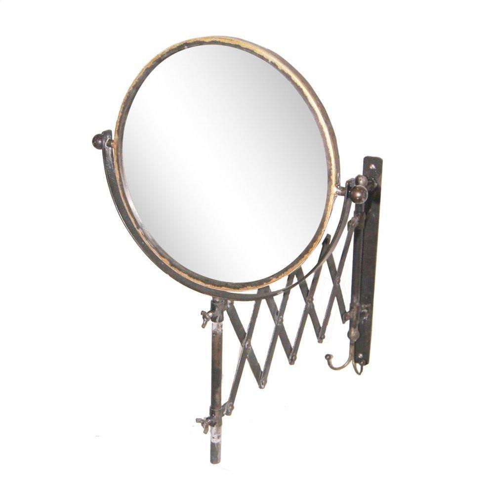 Metal Accordian Mirror