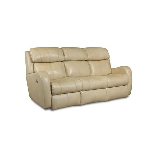 Southern Motion - Double Reclining Sofa with Power Headrest and 2 Pillows
