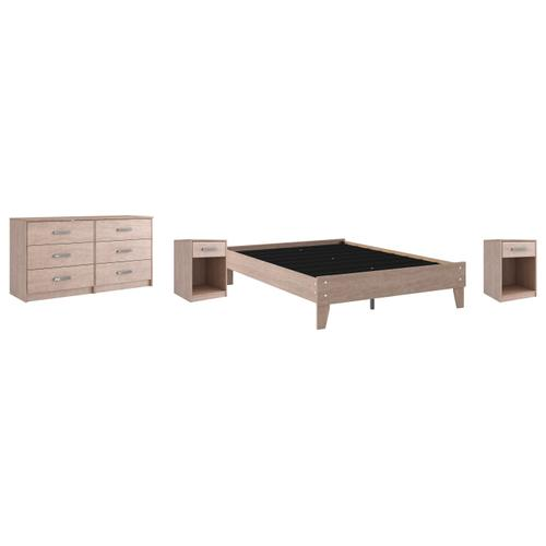 Ashley - Full Platform Bed With Dresser and 2 Nightstands