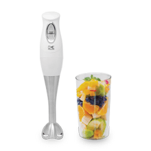 Product Image - Kalorik 200 Watts Hand Blender with Mixing Cup, White