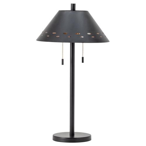 Tribeca Twin Light Table Lamp