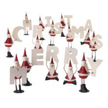 """1.5""""x 4.75"""" - S/14 Merry Santa Set"""