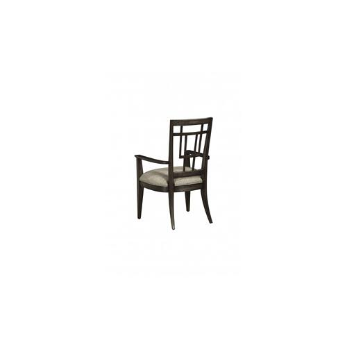 WoodWright Lloyd Brown Rohe Arm Chair