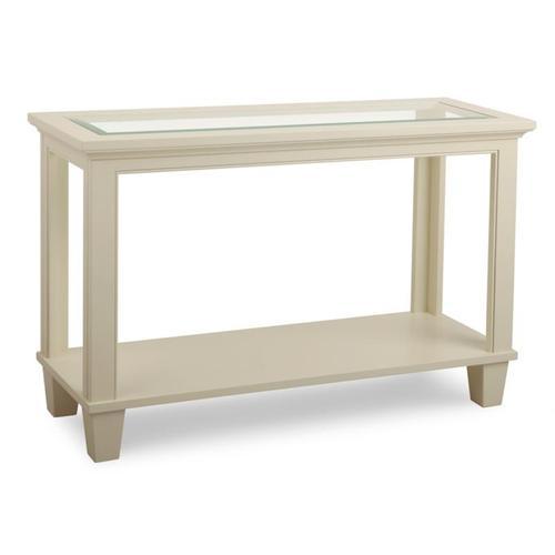 Georgetown Sofa Table w/Glass Top