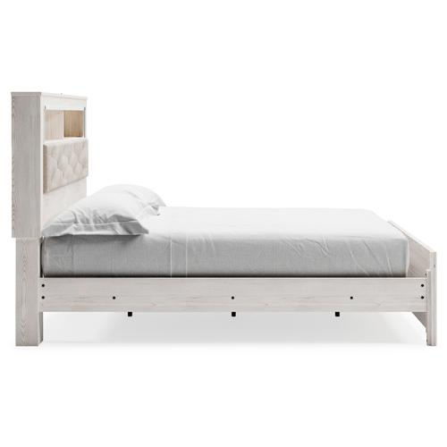 Signature Design By Ashley - Altyra King Panel Bookcase Bed