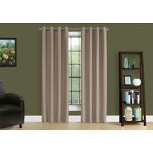 """See Details - CURTAIN PANEL - 2PCS / 52""""W X 95""""H BROWN SOLID BLACKOUT"""