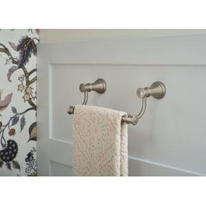 Belfield brushed nickel hand towel bar
