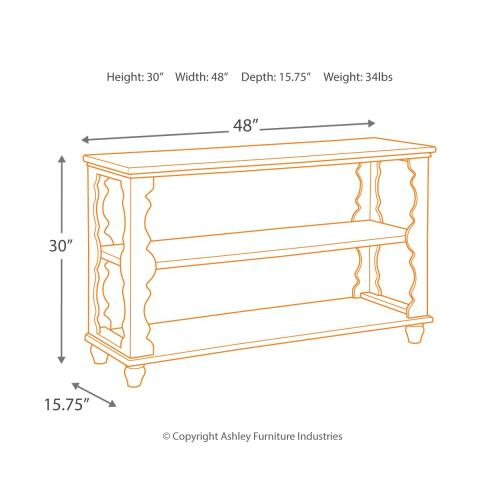 Alwyndale Sofa/console Table