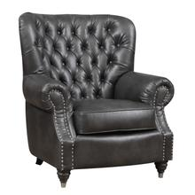 Capone Accent Chair, Charcoal Gray U3545-05-03