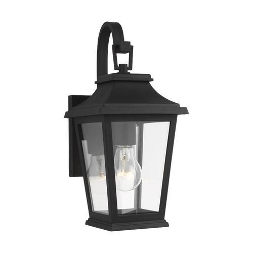 Warren Small Lantern Textured Black
