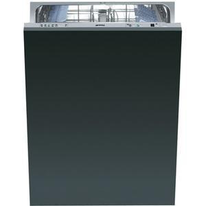 Smeg Fully Integrated Full Size Tub Dishwasher, Accepts Custom Panel, 24-Inch