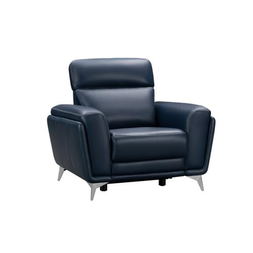 Product Image - Cameron Navy-Blue Recliner