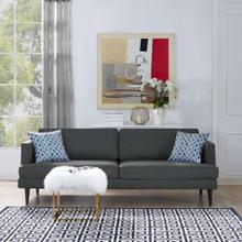 See Details - Agile Upholstered Fabric Sofa in Gray