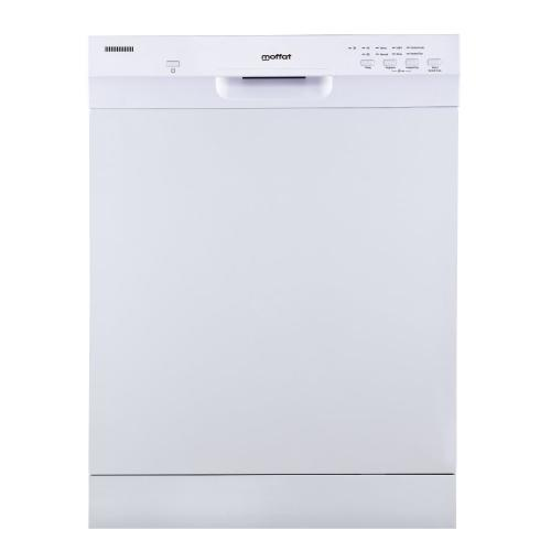 MBF422SGMWW - White Moffat Built-In Dishwasher Stainless Steel Tub