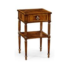 Regency Mahogany Bedside Table