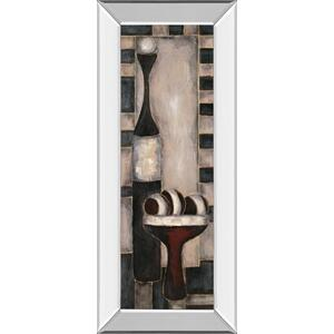 """Bottles"" Mirror Framed Print Wall Art"