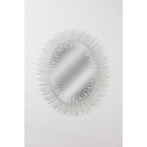 Line King Mirror - White