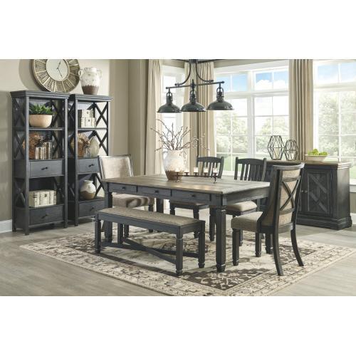 Tyler Creek Display Cabinet Black/Gray