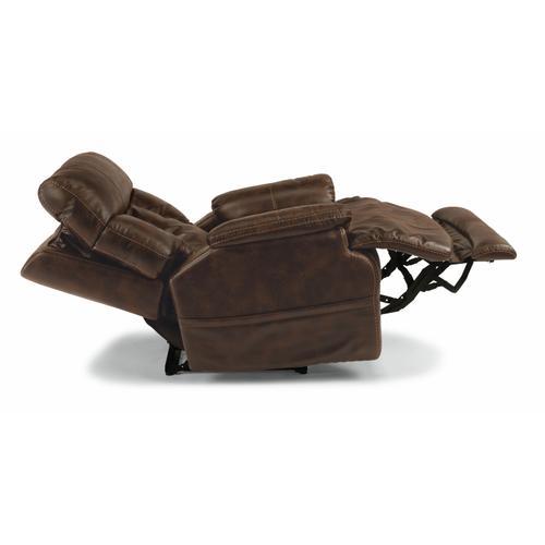 Flexsteel - Clive Power Recliner with Power Headrest and Lumbar