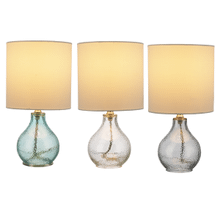 Hammered Glass Accent Lamp. 40W Max. (3 pc. ppk.)