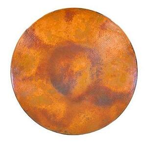 """L.M.T. Rustic and Western Imports - 54"""" Round Natural Copper Top"""