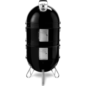Apollo 300 Charcoal Grill 3 in 1 Smoker and Grill , Black , Charcoal