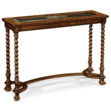 Oyster & eglomise console