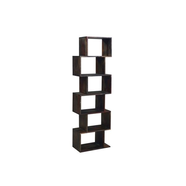 See Details - Fall River Obsidian 6 Tier Bookcase, HC4880S01