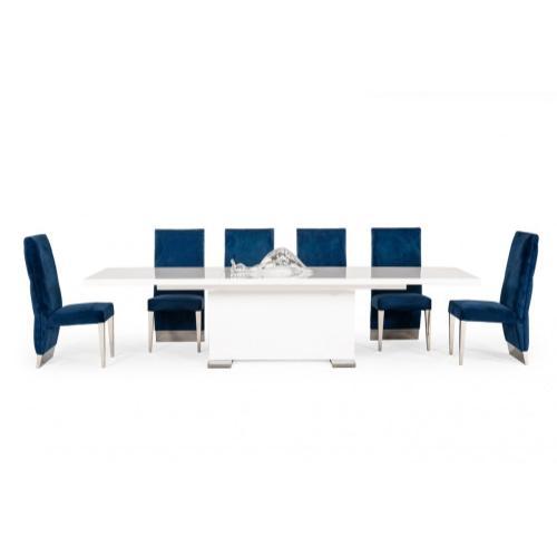 "Modrest Bono ""T"" - Modern White Dining Table"