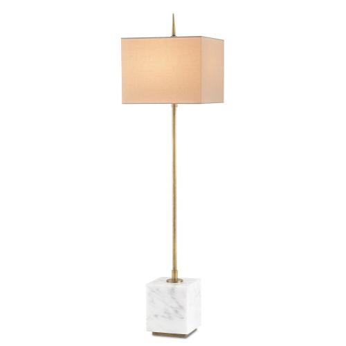 Thompson White Console Lamp