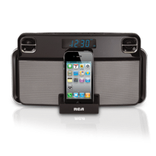 App-enhanced docking station for iPhone and iPod