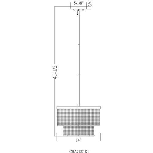 "Surya - Vail VAI-001 10""H x 14""W x 14""D"