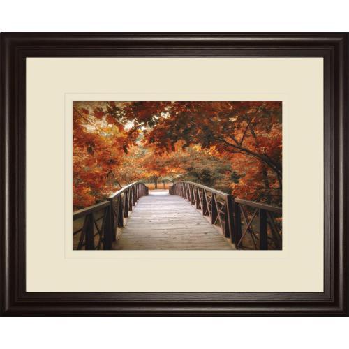 """Footbridge"" By Jessica Jenney Framed Print Wall Art"