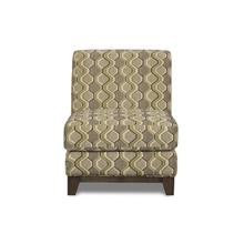 Accent Armless Chair - (Queen Bee Mint)