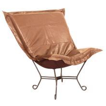 See Details - Scroll Puff Chair Avanti Bronze Titanium Frame