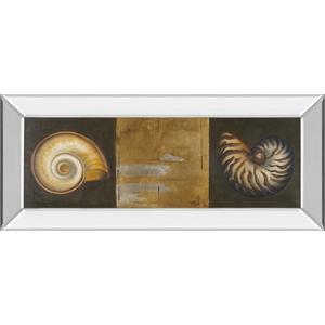 """Seashells I"" By Patricia Pinto Mirror Framed Print Wall Art"