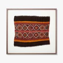 See Details - 0321330001 Vintage Rug Fragment Wall Art