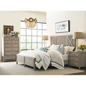 Canton Panel Cal King Bed Complete