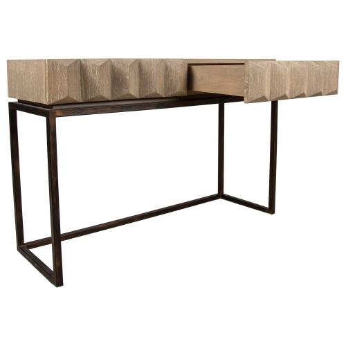 Product Image - Sofa Table, Available in Modern Grey Finish Only.