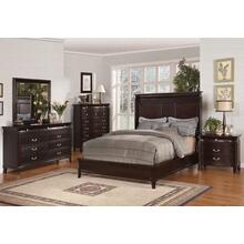 """EASTERN KING SIZE BED 88-7/8""""x84-7/8""""x64""""H"""
